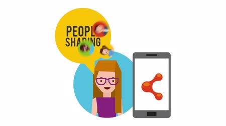 infografik : people sharing design