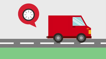 курьер : logistic delivery service fast truck transport