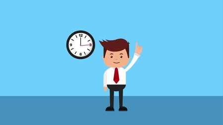 auditing : tax auditor pointing clock time taxes payment