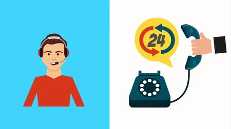 телемаркетинг : call center agent and hand with telephone customer service
