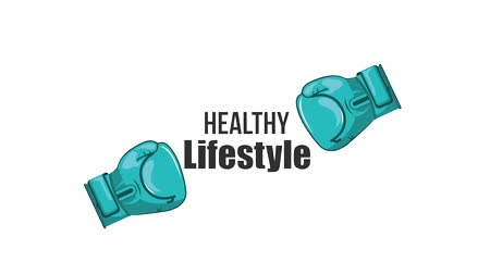 combate : boxing gloves sport healthy lifestyle animation hd