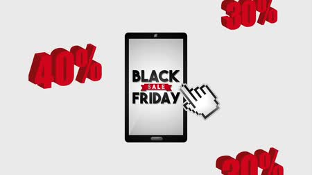 oferta : smartphone sale black friday percent discounts animation hd