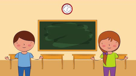 educar : ,back to school 4k video animation