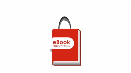 ebook : electronic book technology , hd video animation