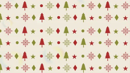 падуб : happy merry christmas pattern background ,hd video animation