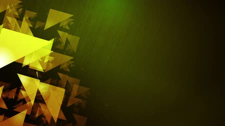 subtítulo : green background with geometric figures for titles