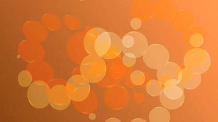 lemezek : abstract orange background with circles loop