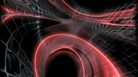 delikleri : abstract red tunnel background