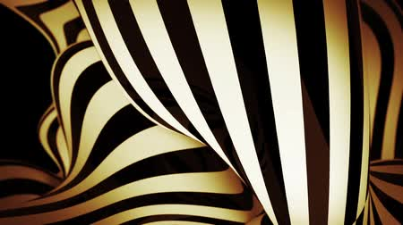 abstract motion background with moving zebra lines loop