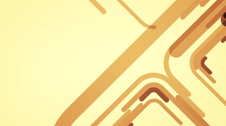 abstract background with brown lines and squares, loop Stok Video