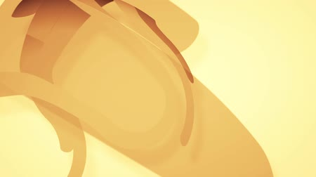 abstract background with brown lines, loop Stok Video