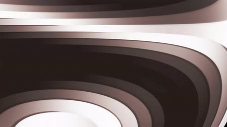 Background with animated grey and brown lines, 4K, loop