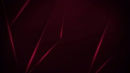 Dark burgundy background with moving triangles, 4K, loop