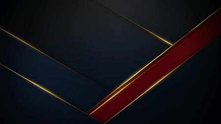 Dark blue and brown background with moving lines, 4K, loop