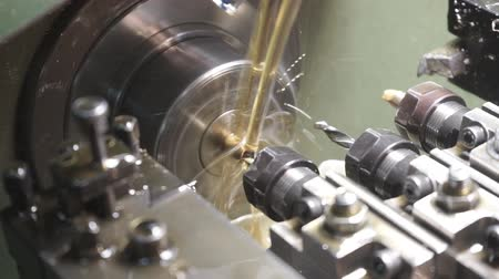 perfuração : Computer Controlled Machine. Industrial equipment, machines in the processing of metal products