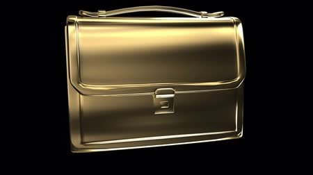 dava : Business gold bag