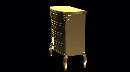 manmade : Gold locker desk