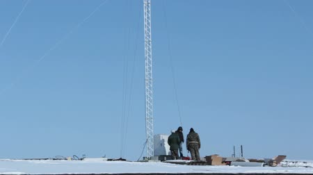 pager : Installation of cellular tower