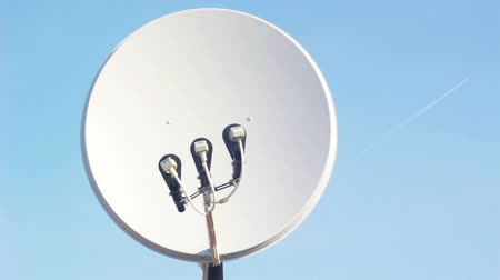 parabola antenna : Satellite dish in the sky