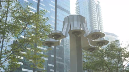 uznání : Many Dome CCTV Surveillance Camera in City of Singapore