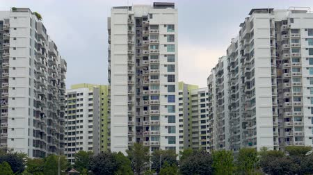 ubytování : Generic Apartment Building Blocks in Singapore