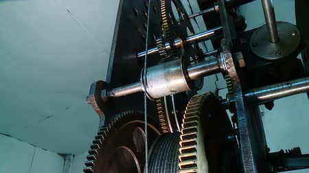 clock mechanism of measuring time