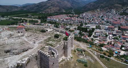seljuk : Aerial View Of Historical Places - Atasuluk Castle