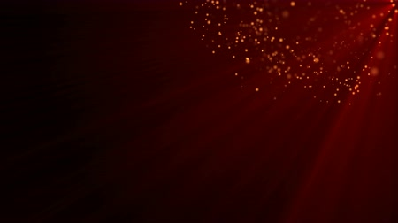 поход : 4k Red Particle seamless background Стоковые видеозаписи