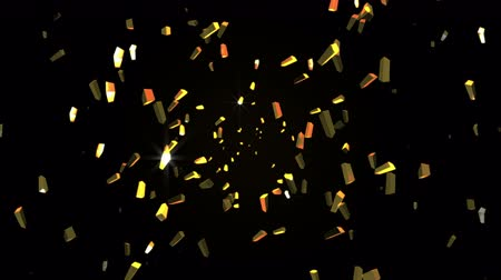 стек : Gold bars Intro loop Particle seamless background