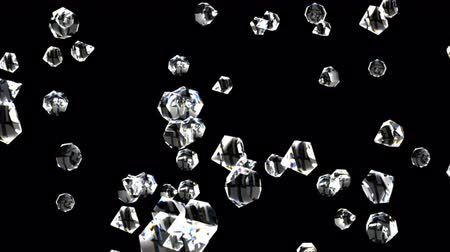 faceta : Diamonds on black able to loop