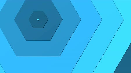 extrude : Blue Hexagon able to loop