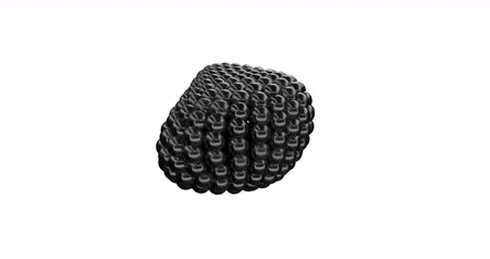 rtuť : Black Metaball Sphere able to loop