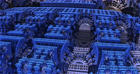 fidedigno : Futuristic mechanism inner structure 3d animation Stock Footage