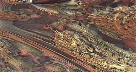 marbling : Abstract brown blur background zoom in footage