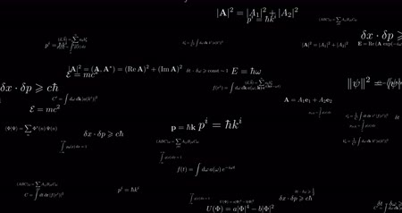 calcular : Sophisticated mathematical formula seamless footage
