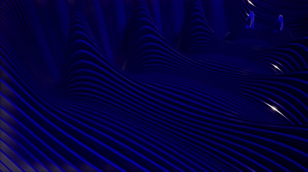 korsan : Phantom Blue tide. Abstract waves slowly fluctuate. A great background for the screensaver. Able to loop seamless