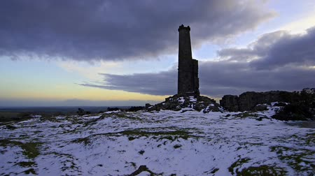 İngilizler : Copper Mine ruins on Bodmin Moor in Cornwall