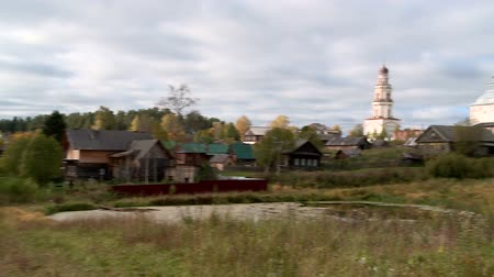 православие : Russian Orthodox village Church dome