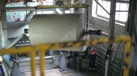 background material : Old paper mill conveyor