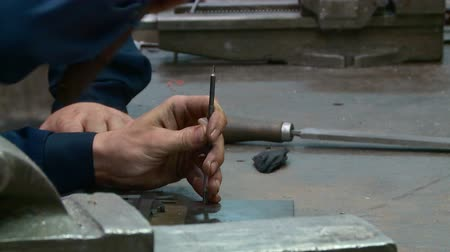 tokarka : work fitter toolmaker at the factory