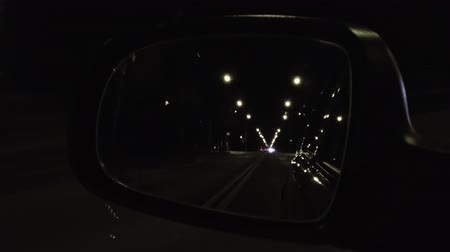 csík : mirror of car driving