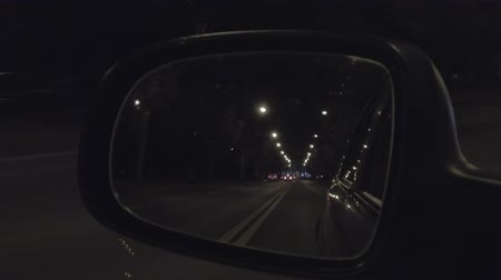 mirror of car driving