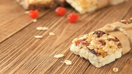 kurutulmuş : Delicious bites with cherry, cranberry, almond and chocolate