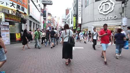 busiest : Anonymous crowds on Discrit Shibuya in Tokyo