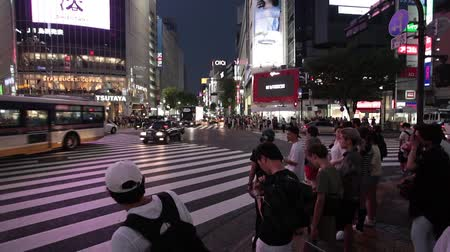 encruzilhada : Anonymous crowds on Discrit Shibuya in Tokyo