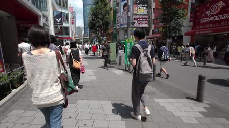 busiest : Anonym people on the street in Tokyo, Japan