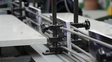 impressão digital : printed book production line into press plant house