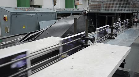 print shop : printed book production line into press plant house