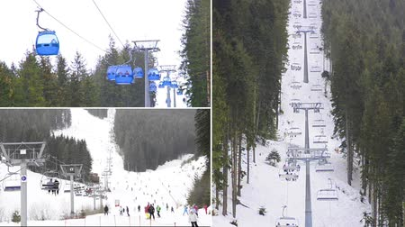 chair lift : ski resort, Bansko Bulgaria