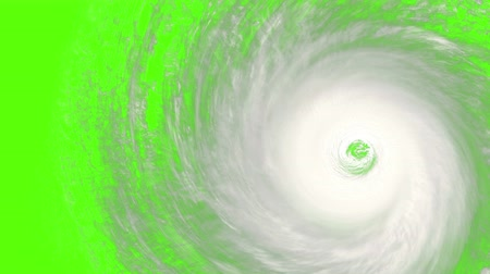 4k, a rotating hurricane with built-in chromakey so that it can be matted onto any image or video. Perfect for videos about: hurricanes, typhoons, Andrew, Katrina, Typhoon Haiyan, typhoon, haiyan